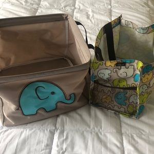 Retired print thirty one elephant bins